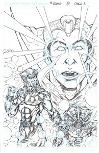 Infinites Issue 4 cover B
